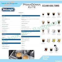 BIG SALE Mesin Kopi Delonghi Primadonna Elite ECAM 650.75MS