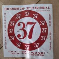 Daun Teh kering Harum Cap 37 5 kg (500 gr x 10 bks) Medan Bubuk teh