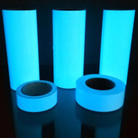 Glow In The Dark Tape 3cm x 3m fosfor Luminous Sticker Lakban - BIRU