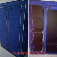 premium Hot Item Lemari Baju Storage Box Rak Pakaian Merk Nine Box Ty