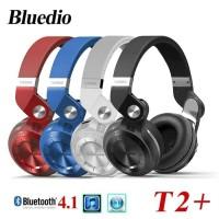 Bluedio T2 + Turbine Hurricane Headphone Bluetooht Wireless 4.1