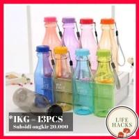 BOTOL MINUM BPA FREE TRANSPARAN 550ml MY BOTTLE BOTOL ANAK
