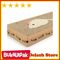 Cat Scratch Pad Board Mainan Papan Garukan Kucing kitten Scratcher
