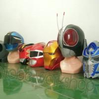 helm IRON MAN bahan RESIN