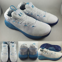 Sepatu Basket Under Armour Stephen Curry 6 Christmas In Town White