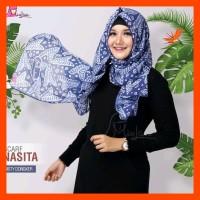 Pashmina Batik Miulan Nasita Jilbab Batik Segi Panjang