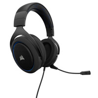 Corsair HS50 Stereo Gaming Headphone - Blue
