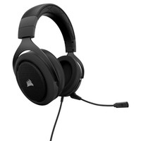 Corsair HS50 Stereo Gaming Headphone - Carbon