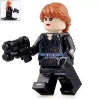 Lego Black Widow Minifigure Avengers Endgame Super Heroes XP183