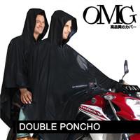 Jas Hujan OMG Poncho Ponco Kelelawar 2 Kepala