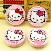 Tempat Softlens Hello Kitty Bulat