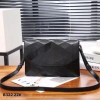 ISSEYMIYAKE Leather BAOBAO Flap-Bag B322-22