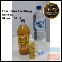 Toner Cuka Apel Bragg Obat Jerawat 100 ml 1:1 Apple Cider Vinegar ACV