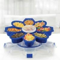 Wadah makanan ringan / marguerite tray set, motif bunga