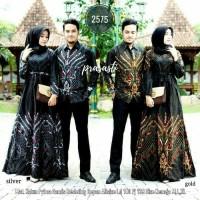 Couple Gamis Murah Batik Nirwana Kebaya Sogan