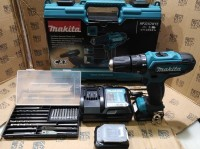 PAKET MATA BOR 21pcs Mesin Bor Baterai Cordless Drill Makita HP331