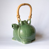 Turtle Tea Coffee pot / Tea Set / Teko / Keramik / Ceramic / Unik