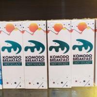 Komodo Breakfast Not So Lazy