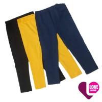 Celana Legging Polos Anak Random Hitam Navy Abu Size XS S M L XL XXL