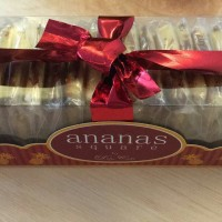 Ananas Square Cookies Nastar Persegi Kue Kering Nanas Premium