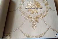 Terbaru Wallpaper Dinding Motif Klasik Gold Merah Hijau Eksklusif