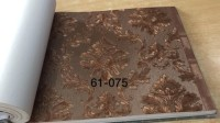 Terbaru Wallpaper Dinding Klasik Damask Gold Soft termurah