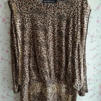 Atasan wanita leopard