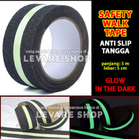 Safety Walk Luminous Tape Anti Slip Tangga - Fosfor Glow in the Dark