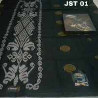 Sarung Sapphire Jacquard Songket Polos Timbul