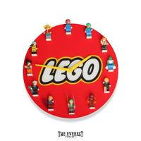 Jam Dinding Lego Akrilik Model