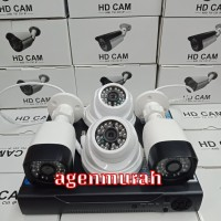 PAKET CCTV 4CH 4MP FULL HD 1080P KOMPLIT TINGGAL PASANG