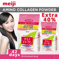 300g Extra 40% Meiji Japan Amino Collagen Refill for 42days