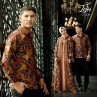 Baju Gamis Syari Muslim couple zafir batik Termurah Dress Muslimah
