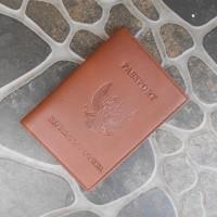 Paling Laku Dompet Kulit Paspor-Cover Paspor-Sampul Passport-Sarung