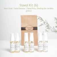 Serai Maharati Travel Kit isi 6 | Minyak Serai Lemongras Oil