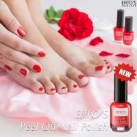 Ertos peel off Nail polish Glamour Red / kutek ertos
