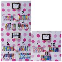 stick marker/ pembatas buku/ plastik stick/ penanda buku/ sticky note