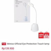 MINISO LAMPU BELAJAR LED ( EYE PROTECTION TOUCH LAMP )