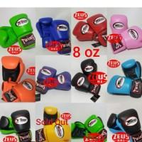 Twins glove 8 oz /sarung tinju