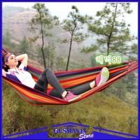 Kasur Gantung Camping Single / Tempat Tidur Pohon Ayunan Series Travel