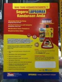 Lupromax DFT Diesel Fuel Treatment 150 ml Diesel