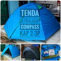 Tenda Ultralight Ringan Berat 1,9 Kg Merek Compss Mirip GO Fly Air