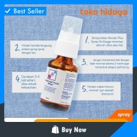 AT07 Aloclair Spray 15 ml - Obat Spray Sariawan Alami