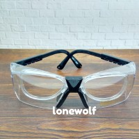 Kacamata Safety Skyline include Frame Lensa Minus