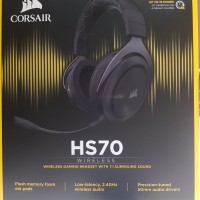 Wireless Headphone with Surround Corsair HS70