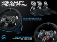 HOT SALE Logitech G29 Driving Force Steering wheel PC, PlayStation 3&4