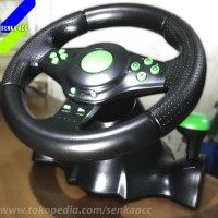 HOT SALE Steering Wheel Racing Game Vibration Motor with Pedal PC PS3
