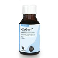 100ml - ORGANIC Rosemary Essential Oil (Rosemarin) Pure - Nusaroma