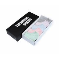 Kaos kaki boxset pendek wanita 5 warna - Terminal Socks