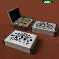 HOT SALE Kotak Rokok Kretek 234, Kayu custom ukir laser Terjarmin